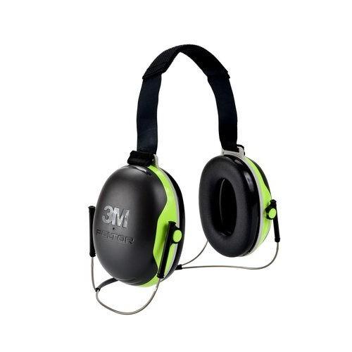 3M PELTOR X4 Earmuffs X4B, Behind-the-Head, 10 EA/Case