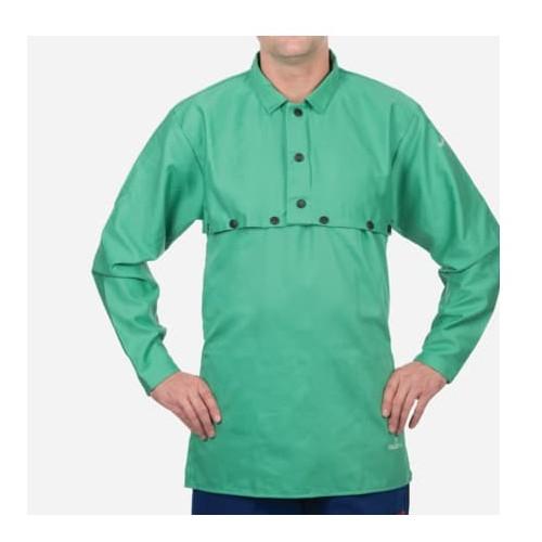 "14"" Green Cotton Bib for Cape Sleeve"