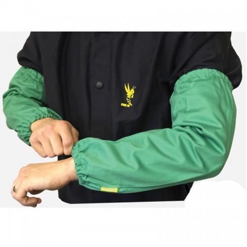"""Weldas 18"""" Sleeves, 9oz. Cotton FR, Green"""