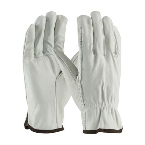 Regular Grade Top Grain Cowhide Leather Drivers Glove