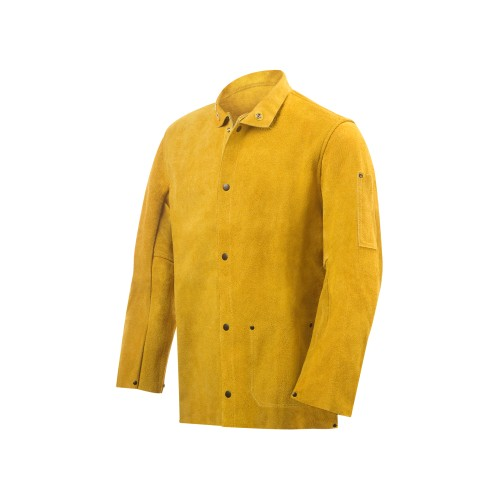 """8215 Side Split Cowhide Welding Jacket - 30"""" Small"""