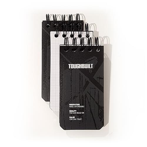 3-pack Grid Notebooks(X-Small)
