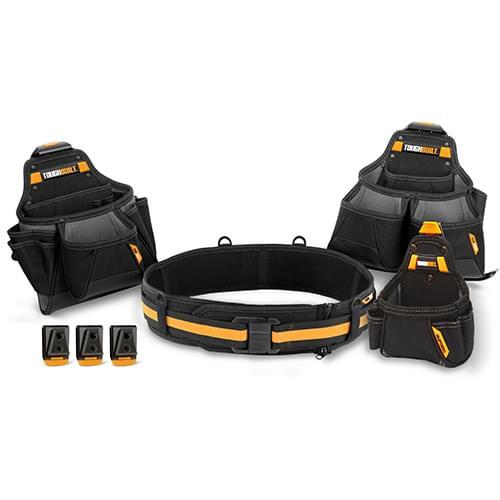 4pc Contractor Tool Belt Set