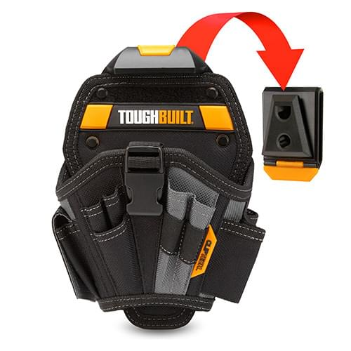 ToughBuilt Drill Holster with ClipTech Hub for Any Belt