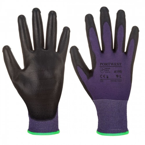 PU Touchscreen Glove, PurBlack