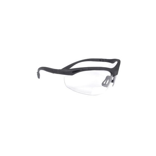 Clear 1.5 Lens Cheaters Bi-Focal Safety Glasses