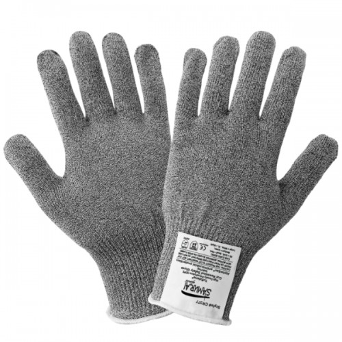 Samurai Glove Antimicrobial Treated Cut Resistant Gloves, 7 (Small)