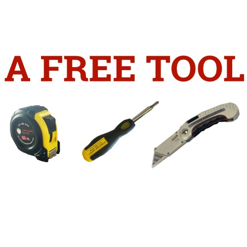 Spend $200 or more for a FREE TOOL