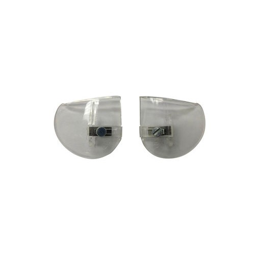 Clear Screw-On Side Shield Pair for Safety Glasses