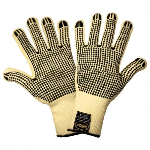 Samurai Glove - Heavyweight Cut Resistant Dotted Gloves, 7 (Small)