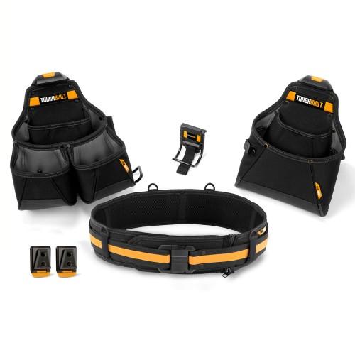 4pc Builder Tool Belt Set
