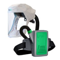 T200 Respirator with Face Seal Hood, Air Duct/Head Harness Assembly and PX5 PAPR Assembly