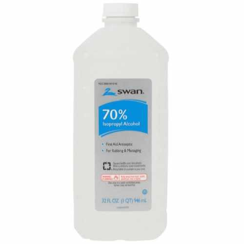 Swan 70% Isopropyl Alcohol 16 FL OZ