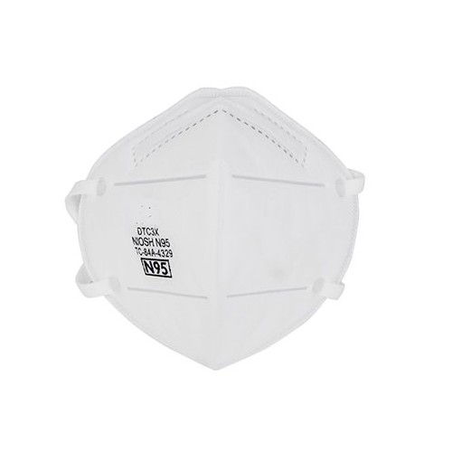 NIOSH N95 Respirator  (Pk20), White