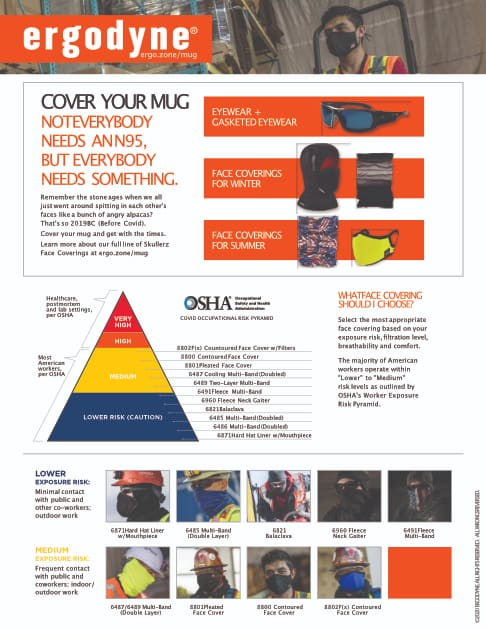 OSHA Face Covering Guide - Not Everybody Needs An N95