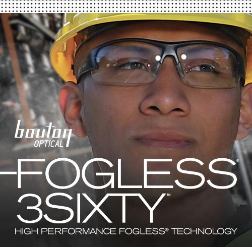 FogLESS Bouton Safety Glasses