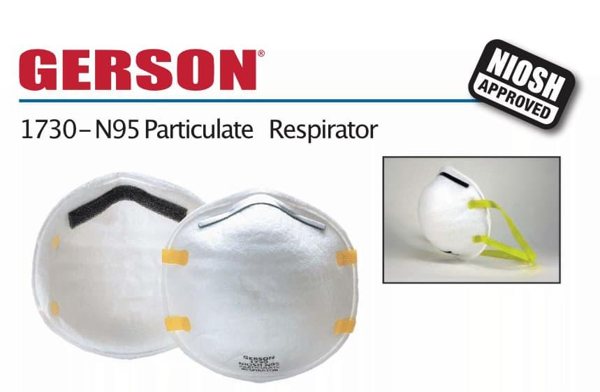 Gerson 1730 Disposable Respirators