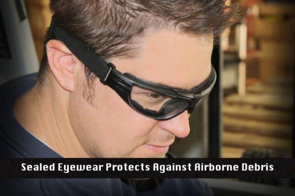 Radians Sealed Eyewear Protection