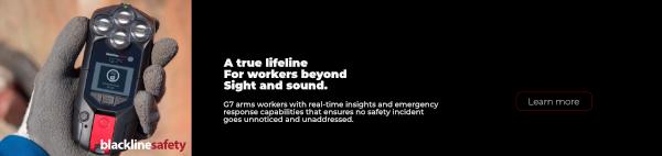 Blackline Safety G7 Gas Detector & More