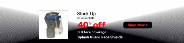 Splash Guard Face Mask