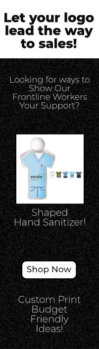 Custom Print Frontline Worker Hand Sanitizer