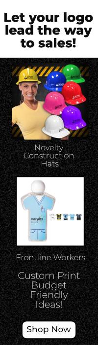 Custom Print Novelty Construction Hats
