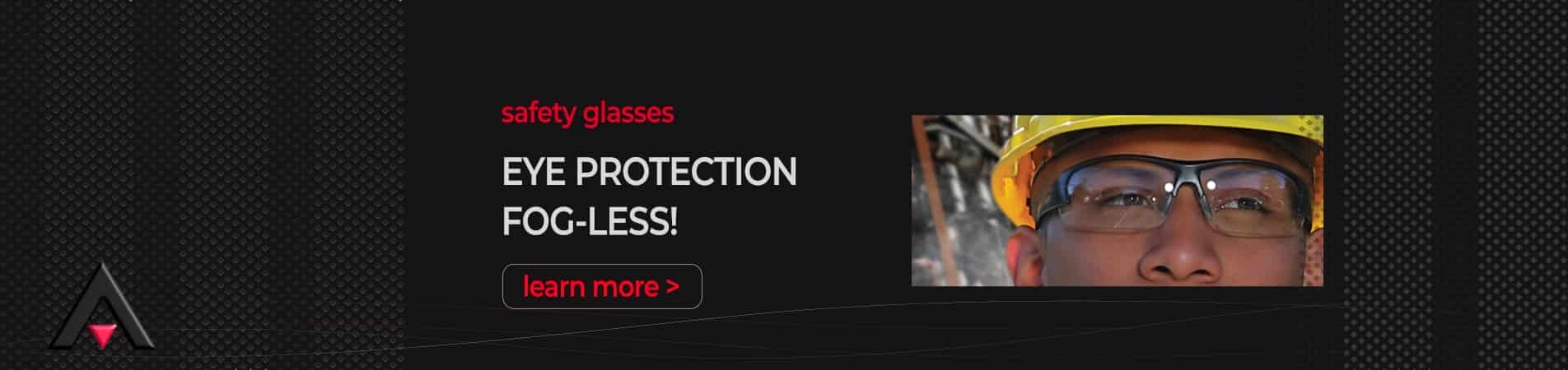 Eye Protection - Bouton Optical Fogless Safety Glasses