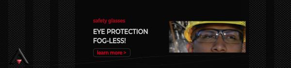 Eye Protection - Bouton Optical Fogless Safety Glasses