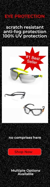 Eye Protection, Safety Glasses, Goggles