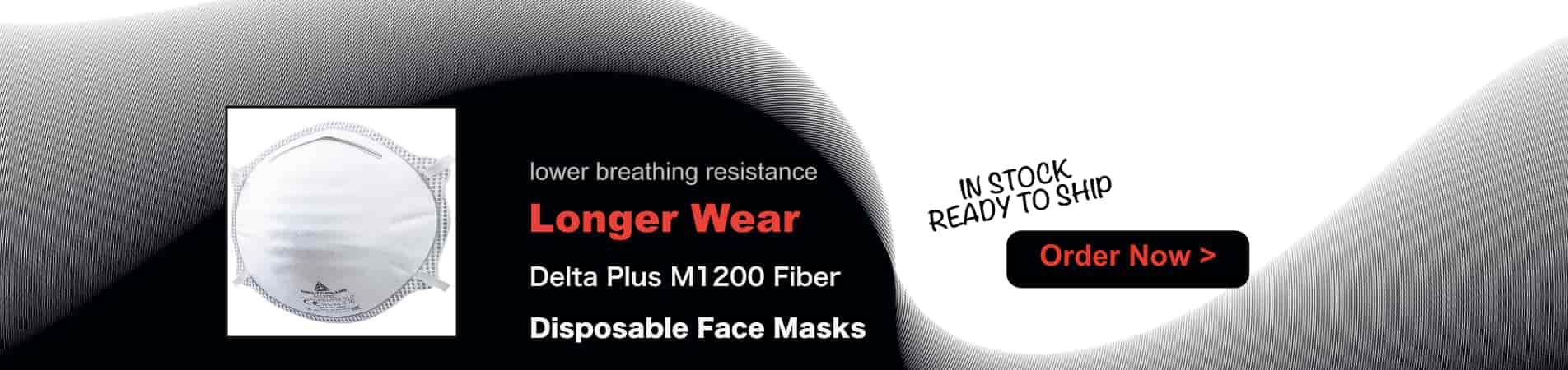 Disposable Longer Wear Face Masks M1200