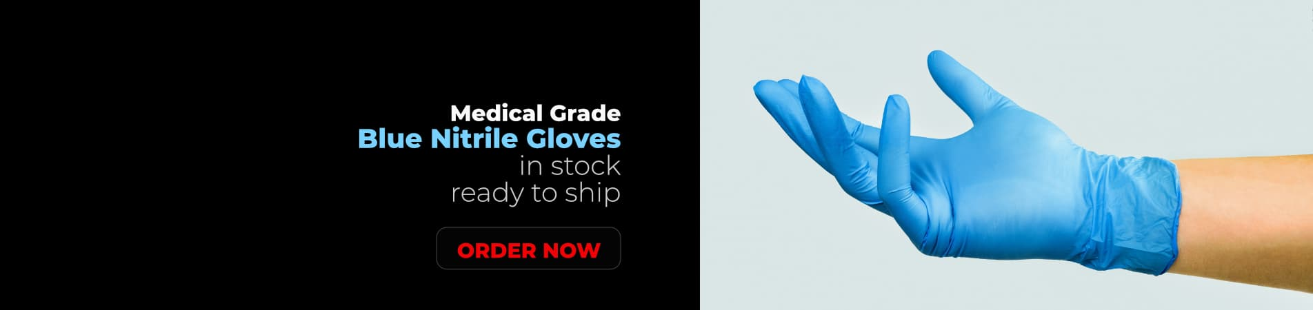 Nitrile Gloves In Stock and Ready to Ship