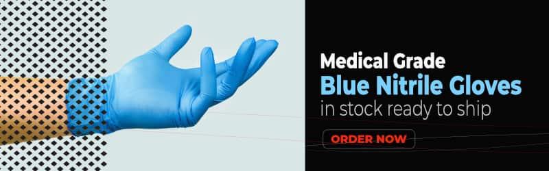 Nitrile Gloves, Medical Grade