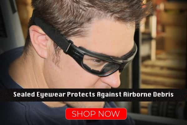 Radians Sealed Safety Glasses