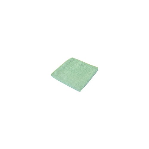 GREEN MICROFIBER CLOTH 16 X 16
