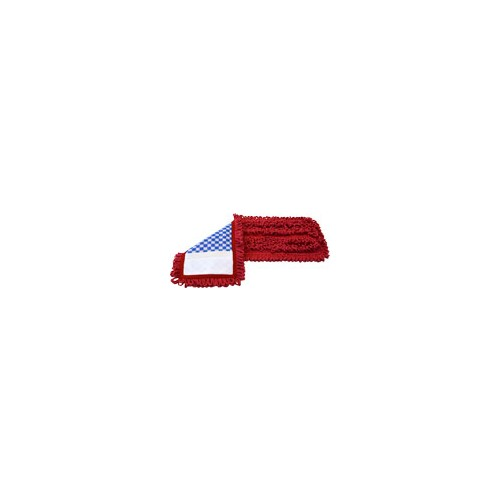 "HIL20050 18"" Trident Premium Mesh-Backed Pocket Mop - Red"