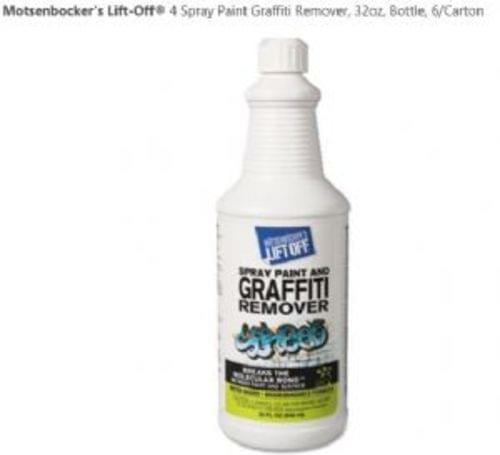 Motsenbocker Spray Paint Graffiti Remover 32oz, 6/cs