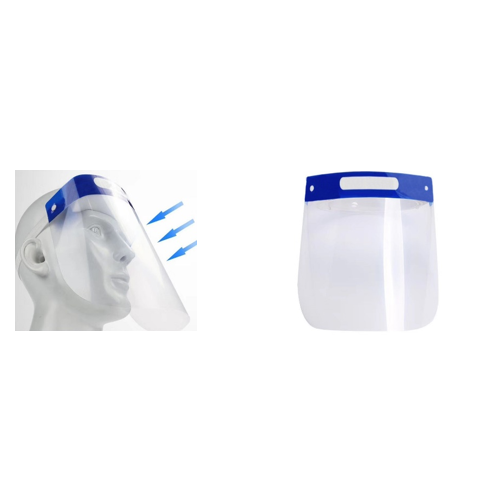 Double sided anti-fog Protective Shield