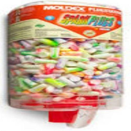 Moldex Sparkplug Plugstation Dispenser, Assorted Colors (pack Of 500 Pr )