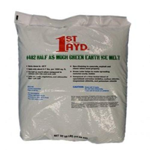 Half as Much Green Earth Ice Melt 50 lb Bags.