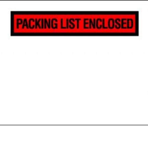 Packing Slip Envelopes See Thru 4 1/2''x 5 1/2'' 1,000/box