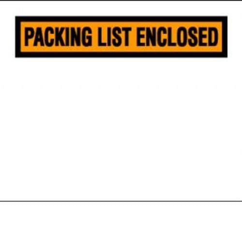 Packing Slip Envelopes-Large See-Thru 7''x 5 1/2'' 1,000/box