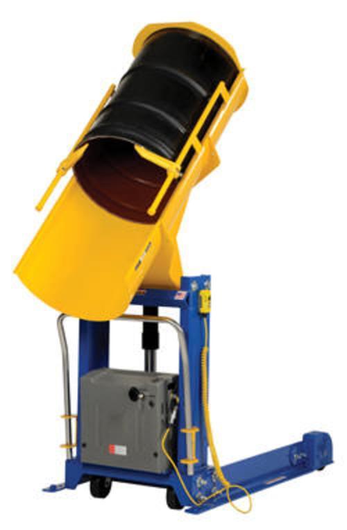 Portable Hyd Drum Dumper 0.75K 72 In