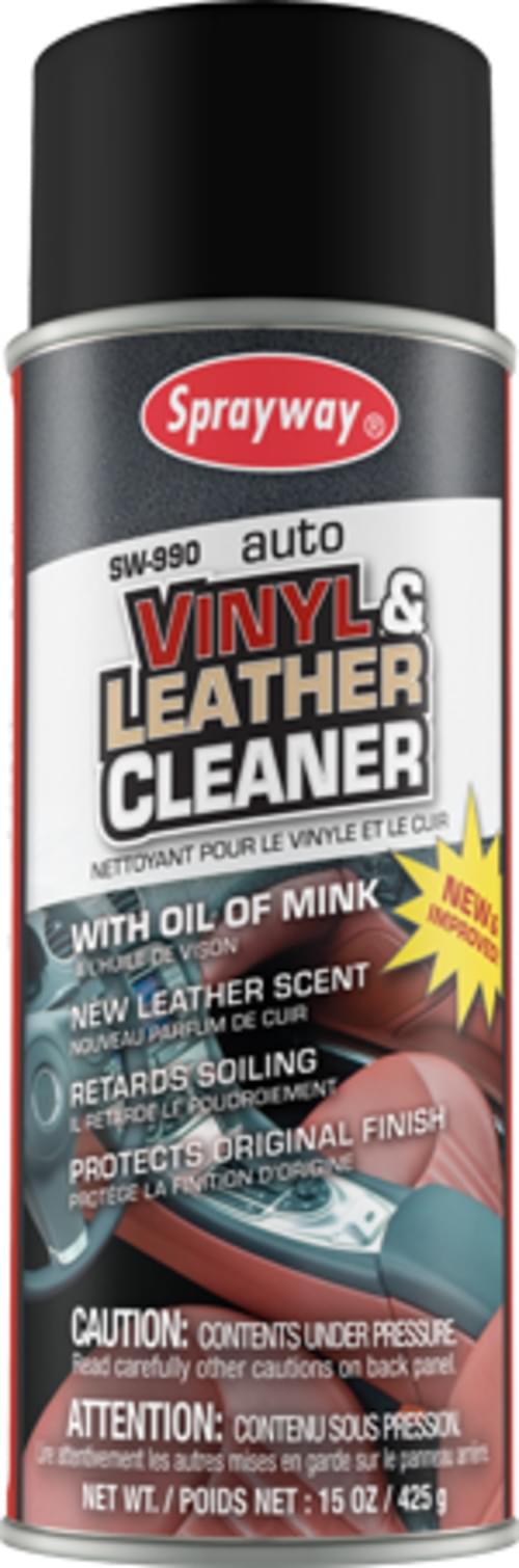 16 oz. Vinyl & Leather Cleaner (with oil of mink)