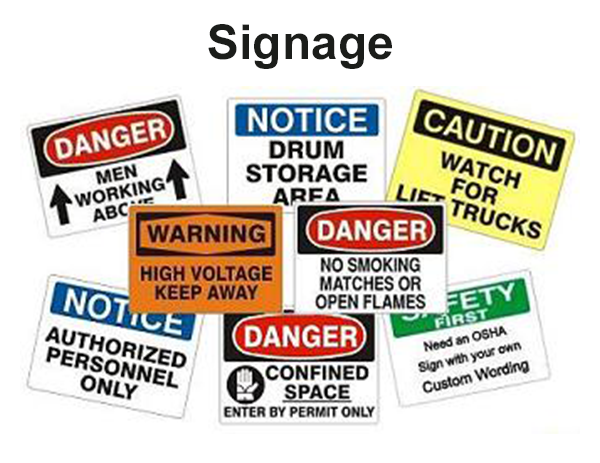 Signage - SafetyExports.com