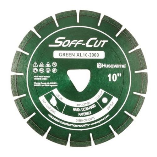 Husqvarna 542756106 XL12-2000 Excel 2000 Series Blade & Skidplate, Green