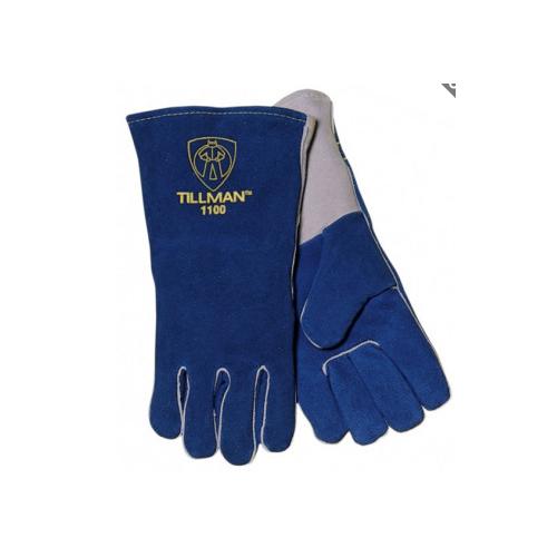 Blue Welders Glove
