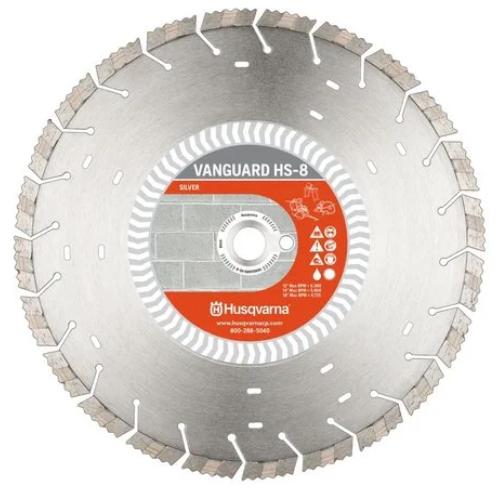 Vanguard HS8 14In x .125In x 1In-20mm Diamond Blade