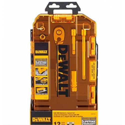 "DEWALT DWMT75421 3/8"" Socket Set and Ratchet"