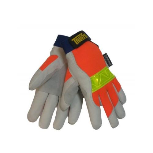 John Tillman TIL1486L Large Hi-Viz Orange/Gray True Fit Top Grain Pigskin Thinsulate Lined Cold Weather Gloves, English, 15.34 fl. oz, Plastic, 1 x 7.5 x 5