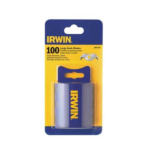 """Irwin Hook Utility Blade, 11/16"""" W, PK100"""